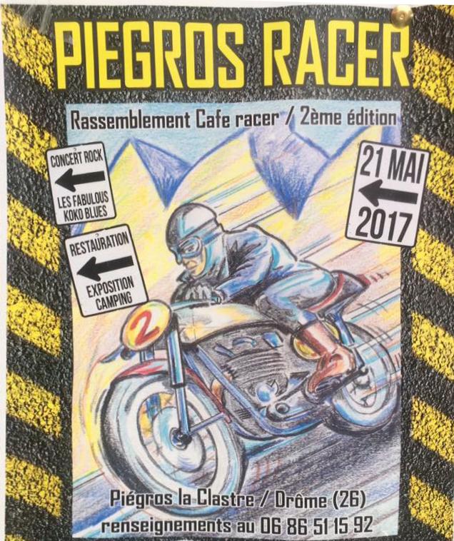 Piegros Racer 2017 Affiche